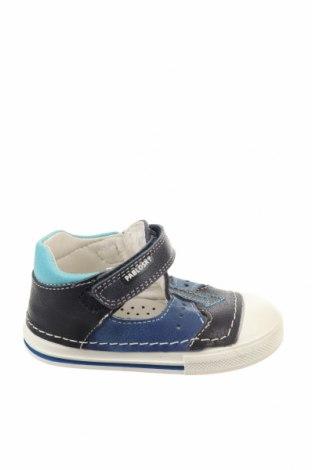 Παιδικά παπούτσια Pablosky, Μέγεθος 19, Χρώμα Μπλέ, Γνήσιο δέρμα, Τιμή 12,22€