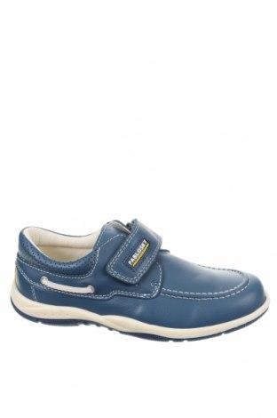 Παιδικά παπούτσια Pablosky, Μέγεθος 34, Χρώμα Μπλέ, Γνήσιο δέρμα, Τιμή 19,10€