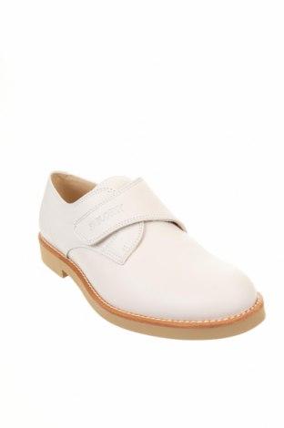 Детски обувки Pablosky, Размер 39, Цвят Бял, Естествена кожа, Цена 33,79лв.