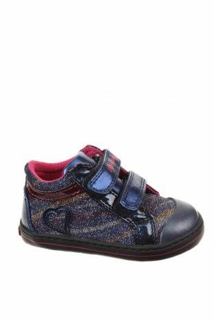 Παιδικά παπούτσια Pablosky, Μέγεθος 22, Χρώμα Πολύχρωμο, Κλωστοϋφαντουργικά προϊόντα, γνήσιο δέρμα, Τιμή 12,85€