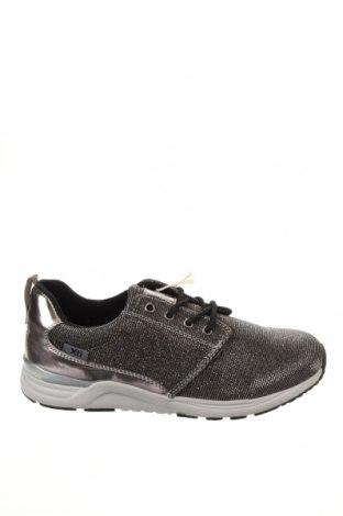 Детски обувки Xti, Размер 36, Цвят Сив, Еко кожа, текстил, Цена 31,47лв.
