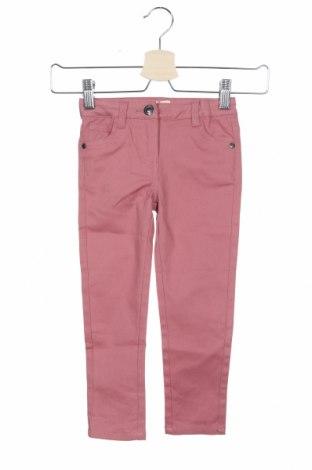 Παιδικό παντελόνι Neck & Neck, Μέγεθος 2-3y/ 98-104 εκ., Χρώμα Ρόζ , 98% βαμβάκι, 2% ελαστάνη, Τιμή 18,85€