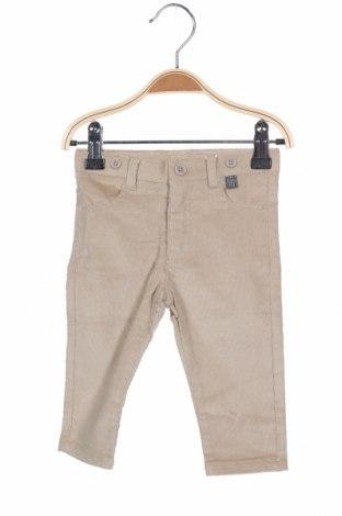 Παιδικό παντελόνι Tutto Piccolo, Μέγεθος 6-9m/ 68-74 εκ., Χρώμα  Μπέζ, 97% βαμβάκι, 3% ελαστάνη, Τιμή 8,84€