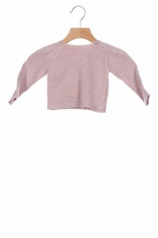Детски пуловер Neck & Neck, Размер 6-9m/ 68-74 см, Цвят Пепел от рози, Цена 33,12лв.