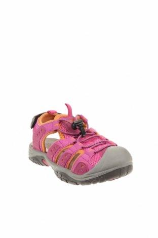 Детски сандали, Размер 31, Цвят Розов, Еко кожа, текстил, Цена 35,77лв.