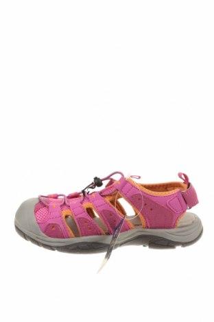 Детски сандали, Размер 33, Цвят Розов, Еко кожа, текстил, Цена 35,77лв.