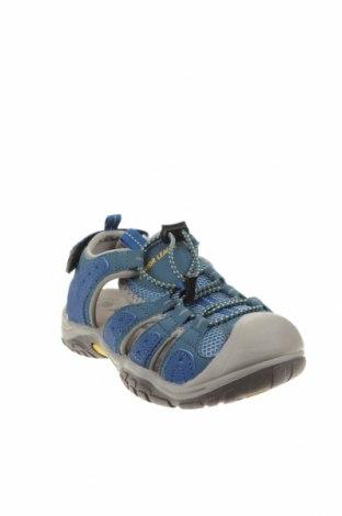 Детски сандали, Размер 32, Цвят Син, Еко кожа, текстил, Цена 31,85лв.