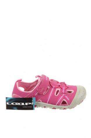 Детски сандали Loap, Размер 32, Цвят Розов, Еко кожа, Цена 28,56лв.