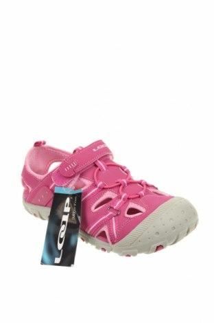 Детски сандали Loap, Размер 35, Цвят Розов, Еко кожа, Цена 29,40лв.