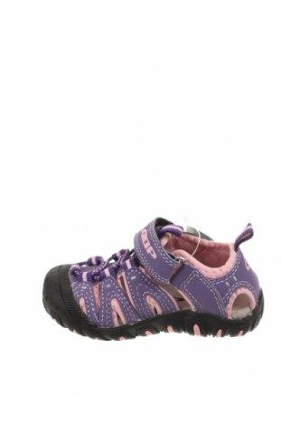 Детски сандали Loap, Размер 22, Цвят Лилав, Еко кожа, Цена 24,50лв.