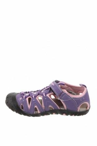 Детски сандали Loap, Размер 35, Цвят Лилав, Еко кожа, Цена 24,50лв.