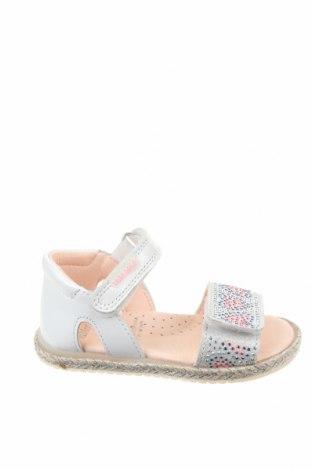 Детски сандали Pablosky, Размер 20, Цвят Бял, Естествена кожа, Цена 41,87лв.