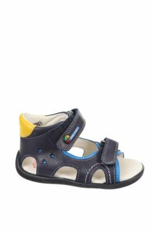 Детски сандали Pablosky, Размер 22, Цвят Син, Естествена кожа, Цена 59,25лв.
