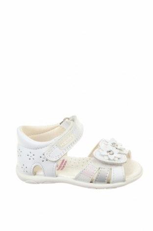 Детски сандали Pablosky, Размер 19, Цвят Бял, Естествена кожа, Цена 49,77лв.