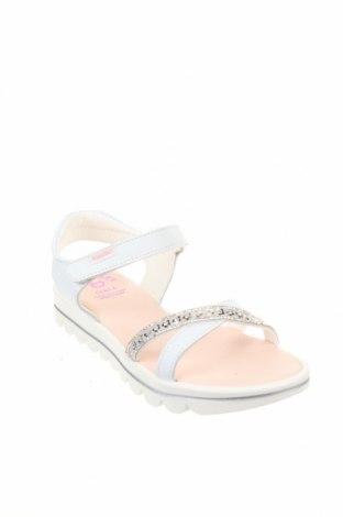 Детски сандали Pablosky, Размер 33, Цвят Бял, Естествена кожа, Цена 43,45лв.