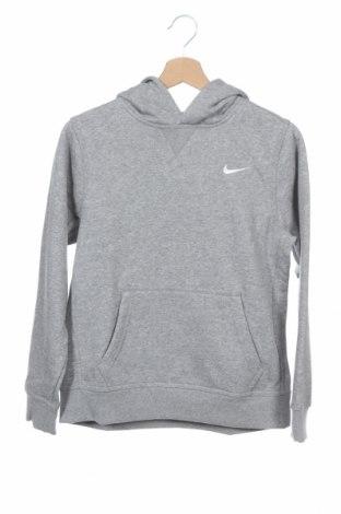 Παιδικό φούτερ Nike, Μέγεθος 11-12y/ 152-158 εκ., Χρώμα Γκρί, 80% βαμβάκι, 20% πολυεστέρας, Τιμή 27,69€