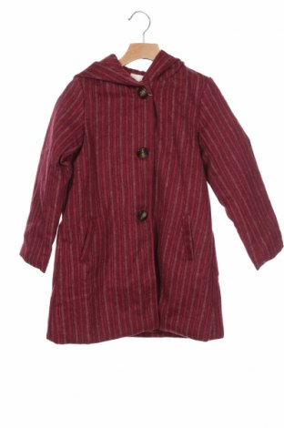 Детско палто Neck & Neck, Размер 6-7y/ 122-128 см, Цвят Червен, 50% вълна, 50% полиестер, Цена 42,72лв.