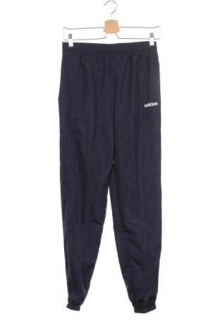 Παιδική κάτω φόρμα Adidas, Μέγεθος 13-14y/ 164-168 εκ., Χρώμα Μπλέ, Πολυεστέρας, Τιμή 8,95€