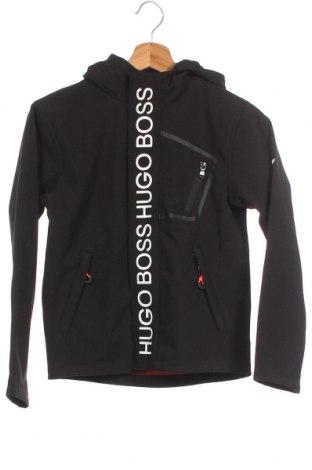 Παιδικό μπουφάν Boss, Μέγεθος 9-10y/ 140-146 εκ., Χρώμα Μαύρο, Πολυεστέρας, Τιμή 86,78€