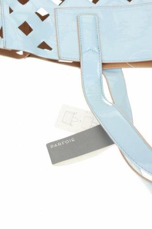 Комплект Parfois, Цвят Син, Еко кожа, текстил, Цена 35,55лв.