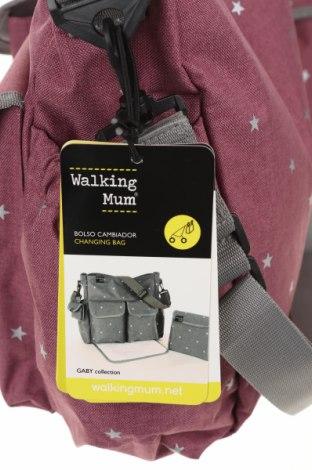 Комплект Walking Mum, Цвят Розов, Текстил, Цена 37,38лв.