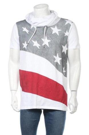 Мъжка блуза Sublevel, Размер L, Цвят Бял, Памук, Цена 10,71лв.
