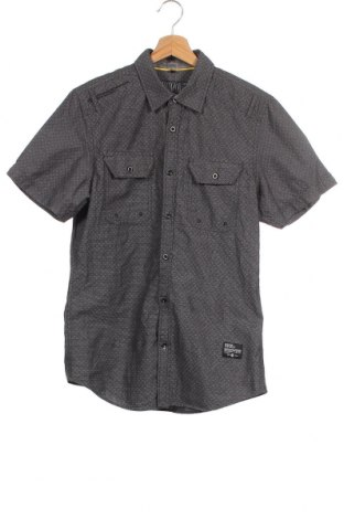 Мъжка риза Angelo Litrico, Размер S, Цвят Сив, Памук, Цена 5,38лв.