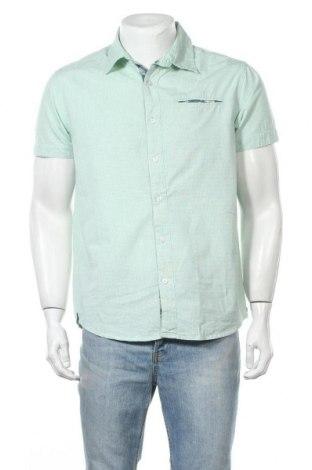 Ανδρικό πουκάμισο Broadway, Μέγεθος L, Χρώμα Πράσινο, Βαμβάκι, Τιμή 8,18€