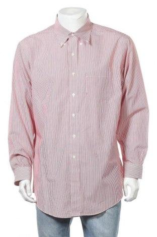 Мъжка риза Brooks Brothers, Размер XL, Цвят Червен, Памук, Цена 20,58лв.