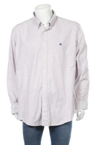 Мъжка риза Brooks Brothers, Размер XXL, Цвят Бял, Памук, Цена 27,30лв.