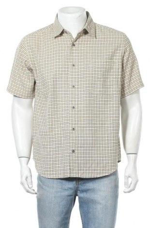 Мъжка риза Columbia, Размер L, Цвят Бежов, 55% модал, 45% полиестер, Цена 17,33лв.