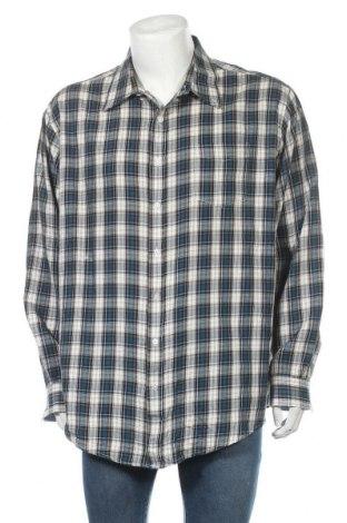 Мъжка риза Croft & Barrow, Размер XXL, Цвят Многоцветен, 60% памук, 40% полиестер, Цена 17,01лв.