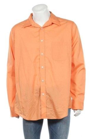 Мъжка риза Croft & Barrow, Размер XXL, Цвят Оранжев, 60% памук, 40% полиестер, Цена 19,95лв.