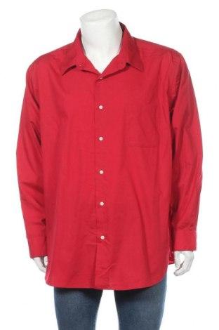 Мъжка риза Croft & Barrow, Размер XXL, Цвят Червен, 60% памук, 40% полиестер, Цена 19,95лв.