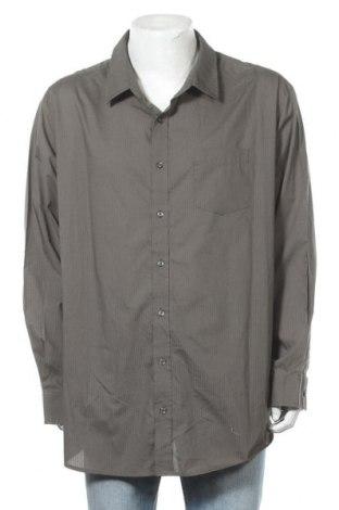 Мъжка риза Croft & Barrow, Размер 4XL, Цвят Зелен, 60% памук, 40% полиестер, Цена 17,85лв.