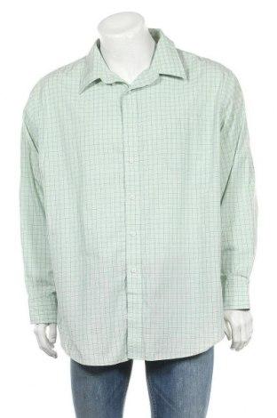 Мъжка риза Croft & Barrow, Размер XXL, Цвят Зелен, 60% памук, 40% полиестер, Цена 18,90лв.