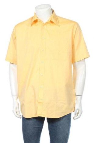 Ανδρικό πουκάμισο Daniel Hechter, Μέγεθος L, Χρώμα Κίτρινο, Βαμβάκι, Τιμή 21,53€