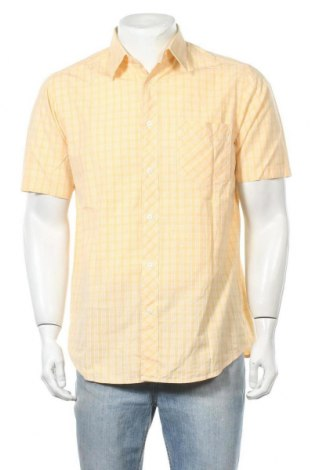 Ανδρικό πουκάμισο Heine, Μέγεθος M, Χρώμα Πορτοκαλί, Βαμβάκι, Τιμή 8,28€