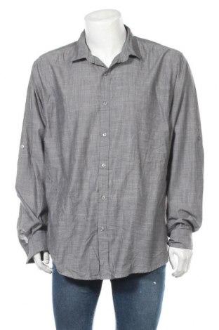Мъжка риза INC International Concepts, Размер XXL, Цвят Сив, 65% полиестер, 35% памук, Цена 41,58лв.