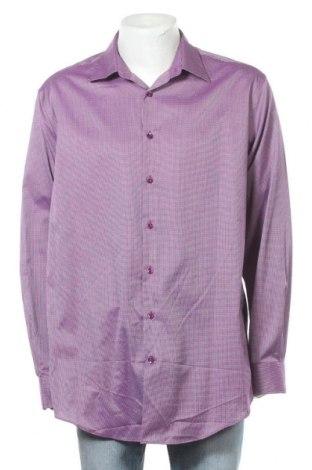 Ανδρικό πουκάμισο Jones, Μέγεθος XL, Χρώμα Βιολετί, Βαμβάκι, Τιμή 6,59€