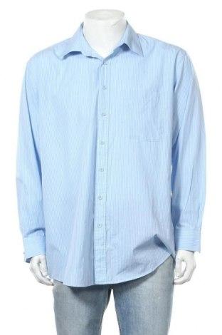 Мъжка риза Kingfield, Размер XL, Цвят Син, 60% памук, 40% полиестер, Цена 5,95лв.
