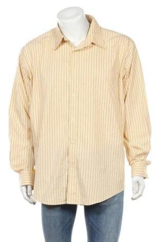 Мъжка риза Land's End, Размер XXL, Цвят Жълт, Памук, Цена 11,34лв.