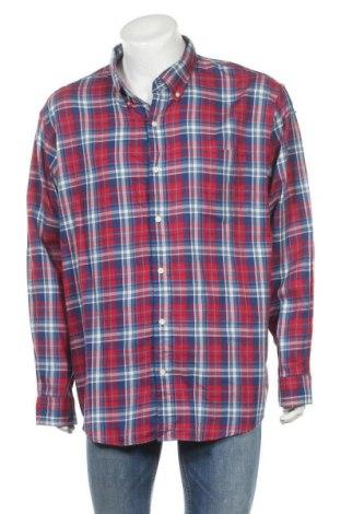 Мъжка риза Land's End, Размер XXL, Цвят Многоцветен, Памук, Цена 16,96лв.