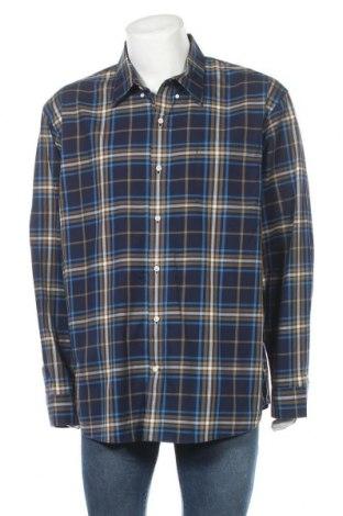 Мъжка риза Land's End, Размер XXL, Цвят Многоцветен, Памук, Цена 19,95лв.