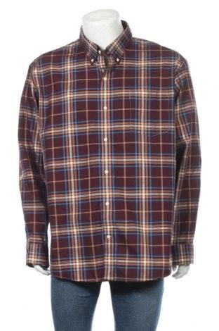 Мъжка риза Land's End, Размер XXL, Цвят Многоцветен, Памук, Цена 16,80лв.