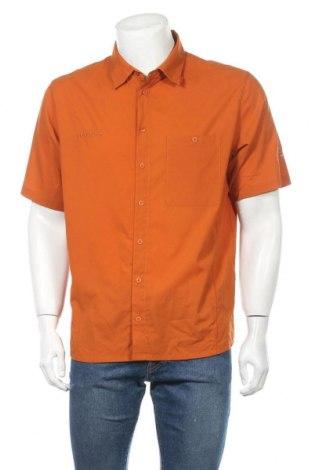 Мъжка риза Mammut, Размер L, Цвят Кафяв, Полиестер, Цена 16,17лв.