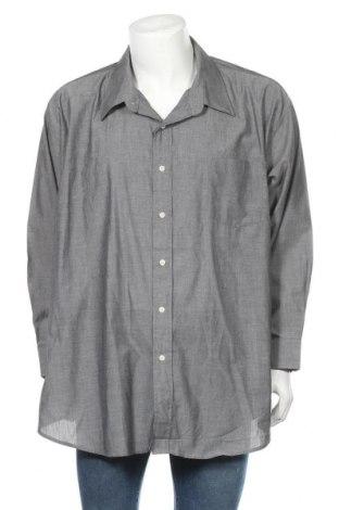 Мъжка риза Oleg Cassini, Размер 4XL, Цвят Сив, 55% памук, 45% полиестер, Цена 17,96лв.