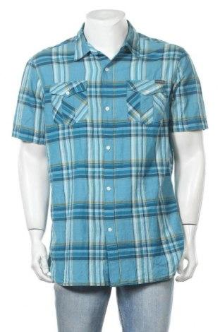 Ανδρικό πουκάμισο Quiksilver, Μέγεθος L, Χρώμα Μπλέ, Βαμβάκι, Τιμή 6,82€