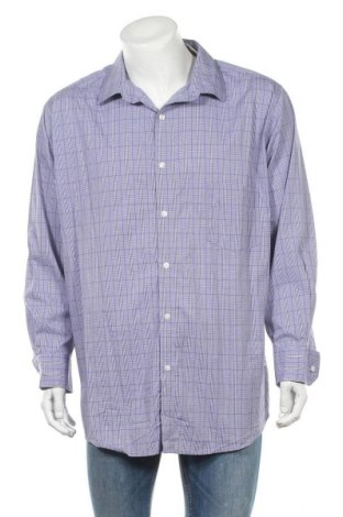 Мъжка риза Sears, Размер XXL, Цвят Лилав, 68% памук, 29% полиамид, 3% еластан, Цена 10,40лв.