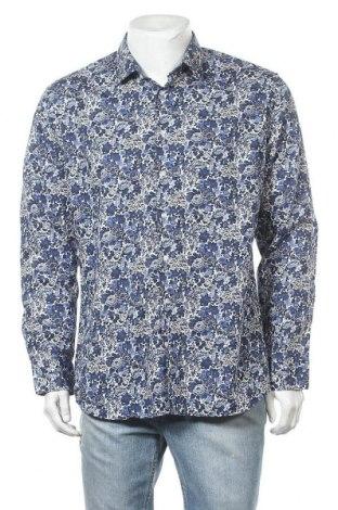Мъжка риза Seidensticker, Размер XL, Цвят Син, Памук, Цена 18,90лв.
